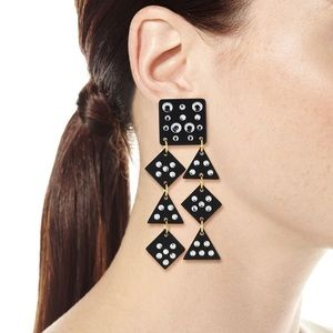 NWT | Lele Sadoughi Spotlight Chandelier Earrings